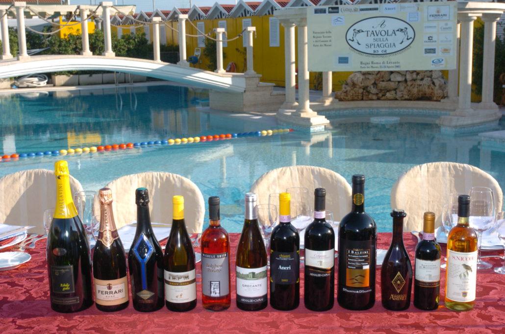 2005 - Forte dei Marmi – bagno Roma di Levante I vini