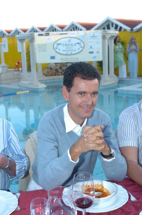 2005 - Forte dei Marmi – bagno Roma di Levante Marcello Lunelli della Ferrari Spumante