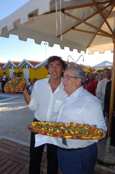 2005 - Forte dei Marmi – bagno Roma di Levante Massimo Giletti e Guido Guidi