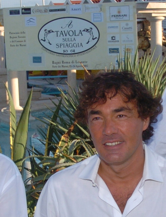 2005 - Forte dei Marmi – bagno Roma di Levante Massimo Giletti