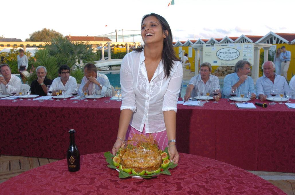 2005 - Forte dei Marmi – bagno Roma di Levante Olivia Vennari