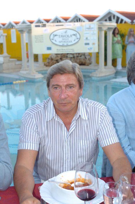 2005 - Forte dei Marmi – bagno Roma di Levante Roberto Bertola sindaco di Forte dei Marmi