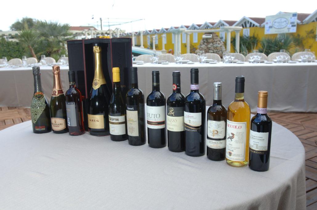 2006 - Forte dei Marmi – bagno Roma di Levante - I vini in degustazione
