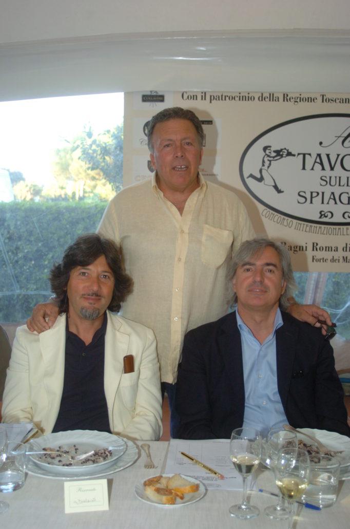 2007 - Forte dei Marmi – UNA Hotel - Massimo Ferrari direttore del bagno Roma di Levante