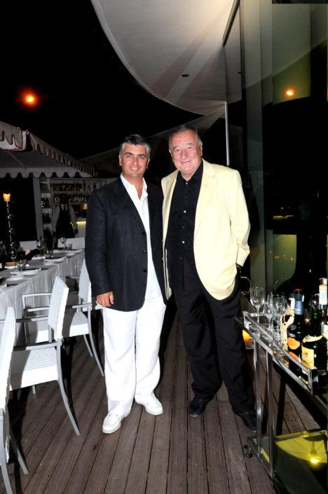2008 - Forte dei Marmi – Bagno Roma di Levante - Massimo Mallegni con Sirio Maccioni