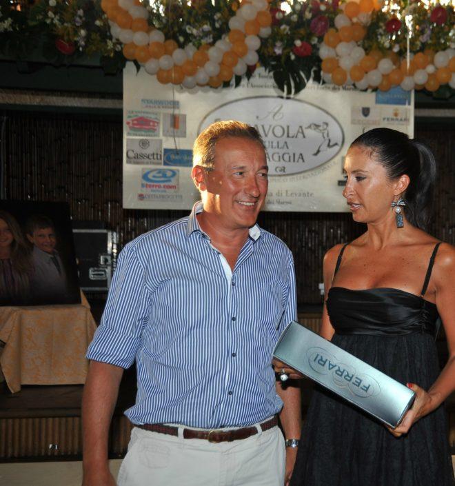 2011 – Forte dei Marmi – La Capannina - Pianaroli premia Elga Frangioni