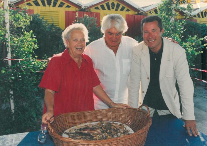 Anna Brosio, Gino Santin, Sandro Vannucci