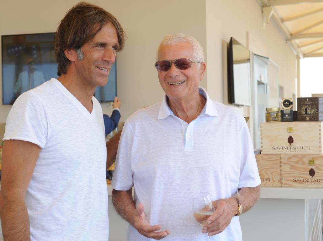 Davide Oldani con Tony May