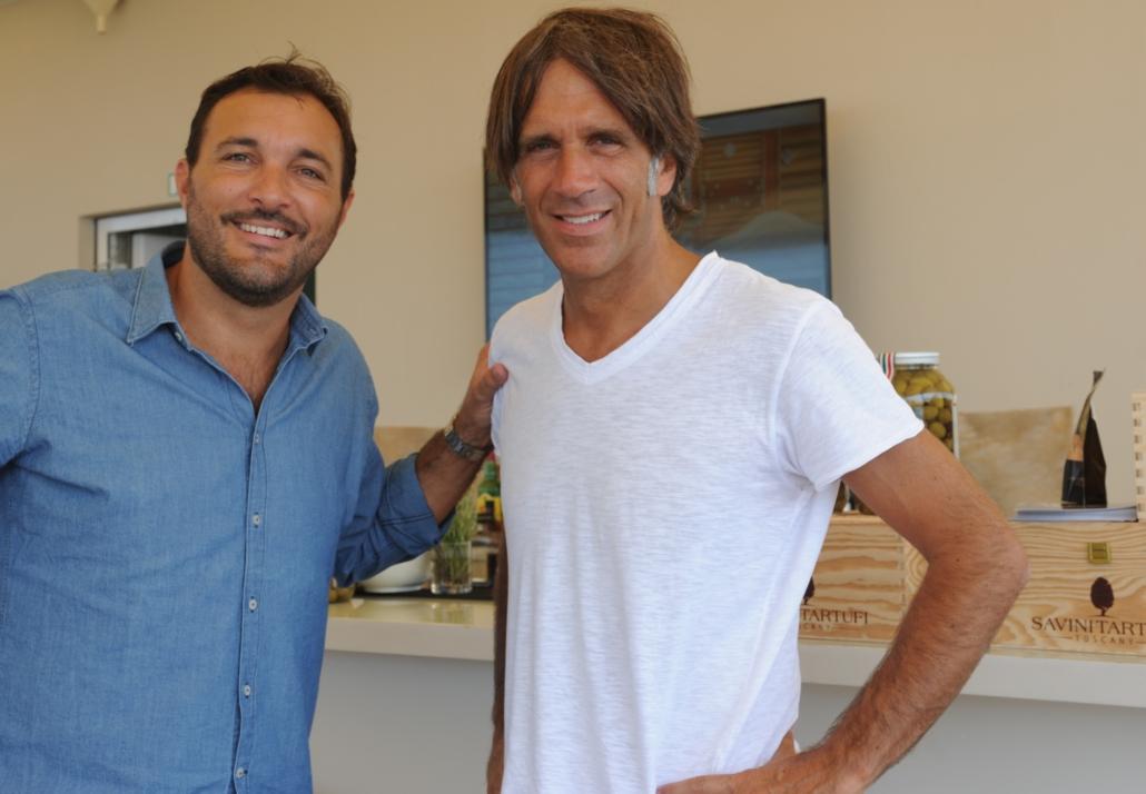 Cristiano Savini e Davide Oldani