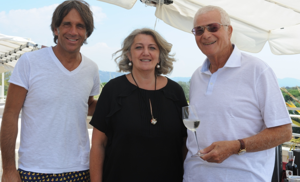Davide Oldani, la signora Grosoli e Tony May
