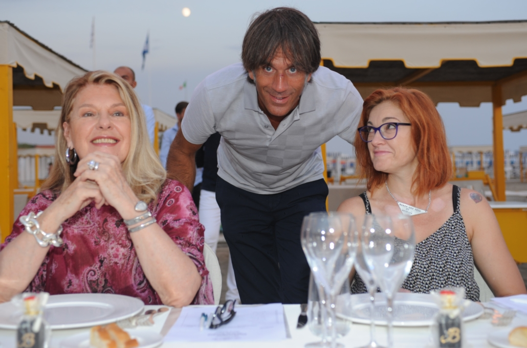 Flavia Mercatali, Davide Oldani e Eleonora Cozzella