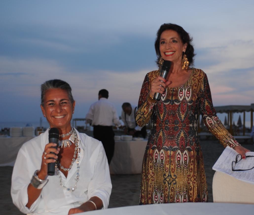 Chiara Voliani con Annamaria Tossani