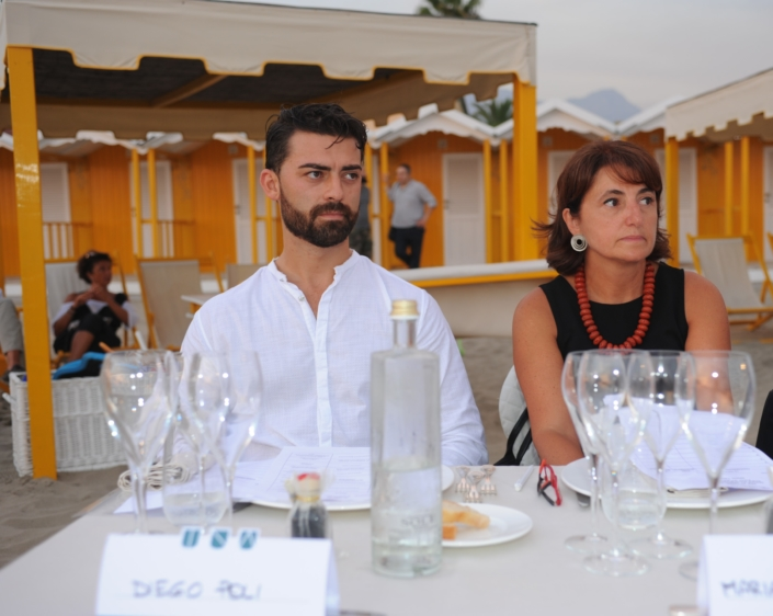Diego Poli e Mariangela Grosoli