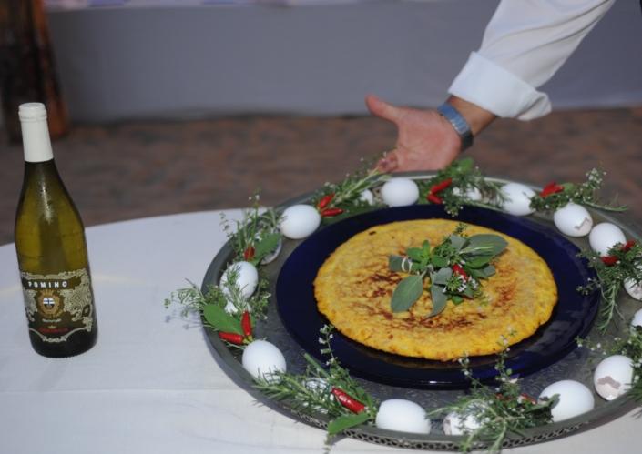 La frittata di cipolle di Chiara Voliani