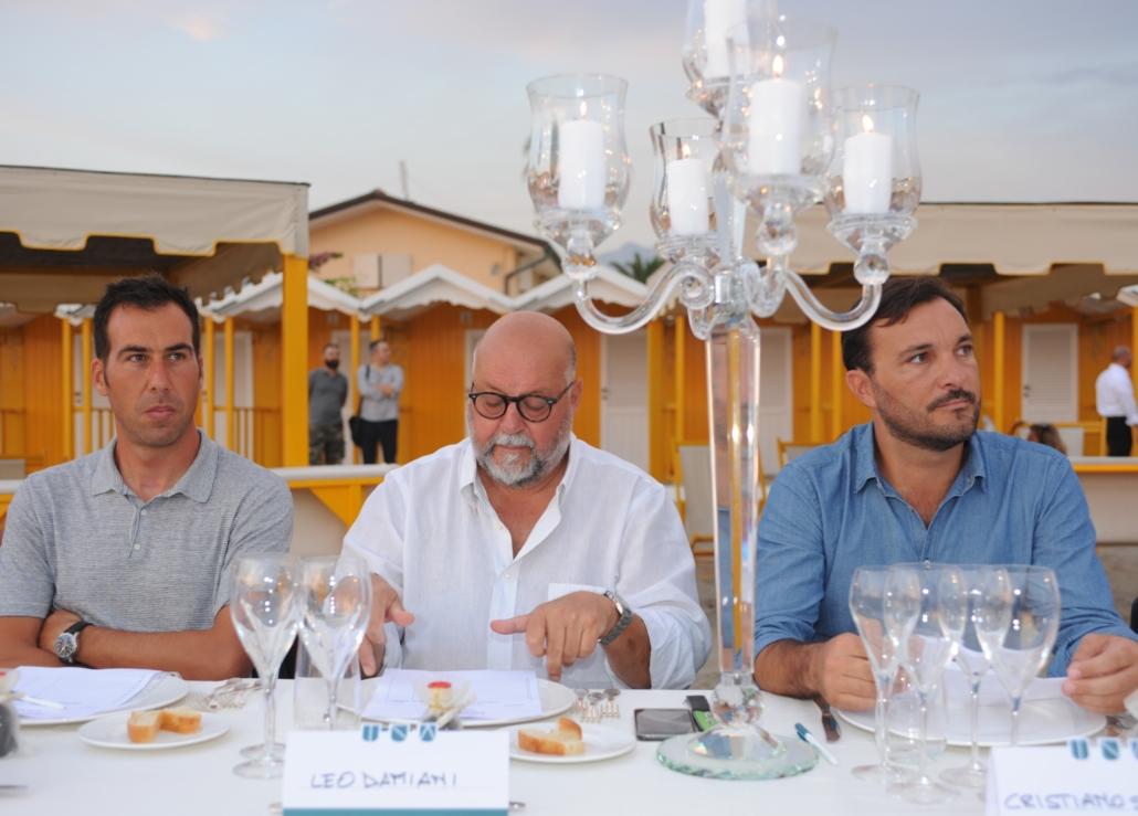 Marco Vaiani, Leo Damiani e Cristiano Savini