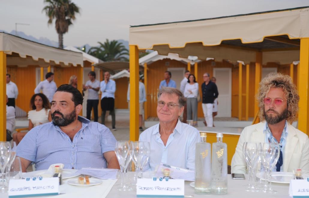 Giuseppe Mancino, Romano Franceschini e Alessio Lini