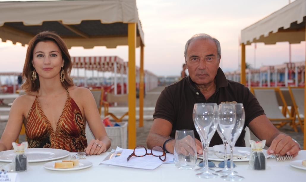 Beatrice Fornaciari e Antonio Bechi
