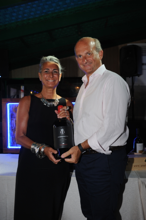 Chiara Voliani premiata da Lamberto Frescobaldi