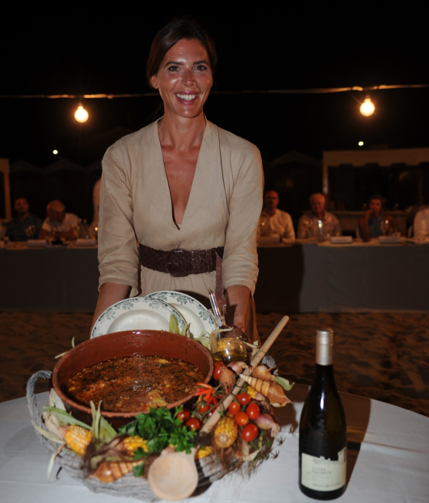 Gaia Franceschi presenta il piatto