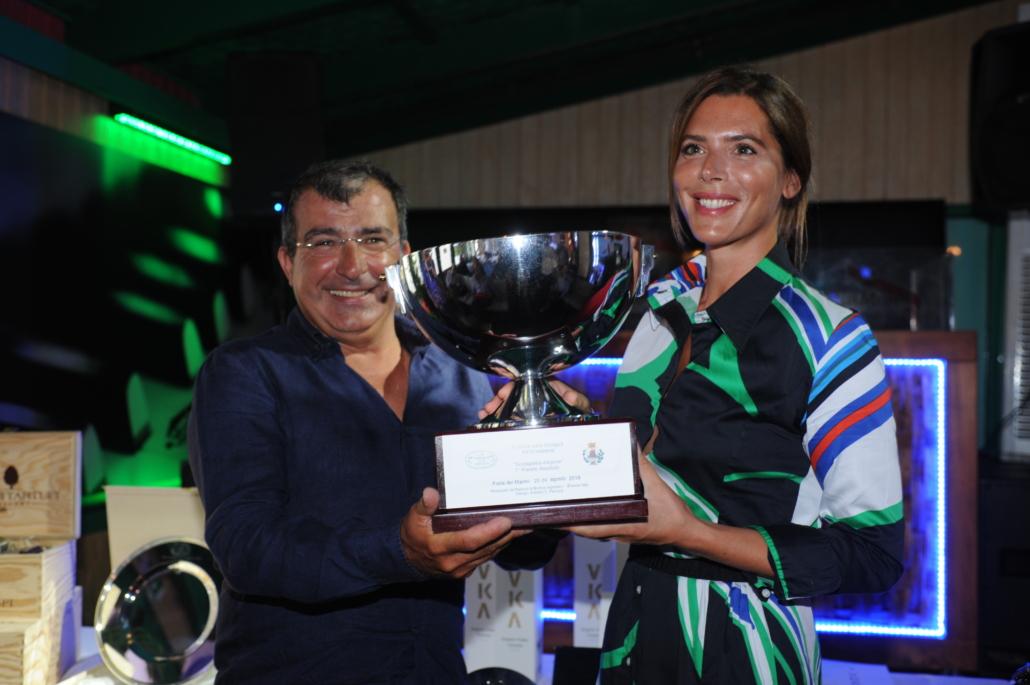 Michele Marcucci con Gaia Franceschi