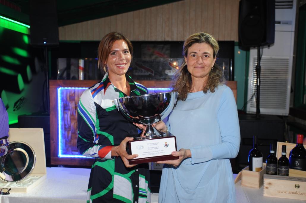 Gaia Franceschi premiata dal vicesindaco Graziella Polacci